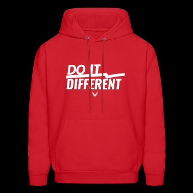 Do It Different merch by Maverick Apparel - Men's Hoodie