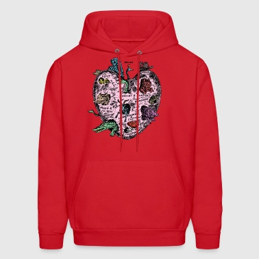 The Unregarded Heart / Amanita muscaria / fungi - Men's Hoodie