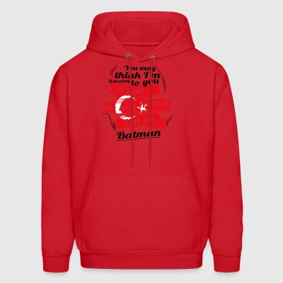 URLAUB HOME ROOTS tuerkiye tuerkei Turkey Batman - Men's Hoodie
