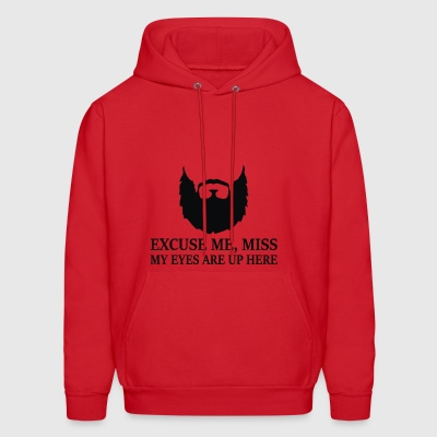 Mens Bearded Slogan - Men's Hoodie