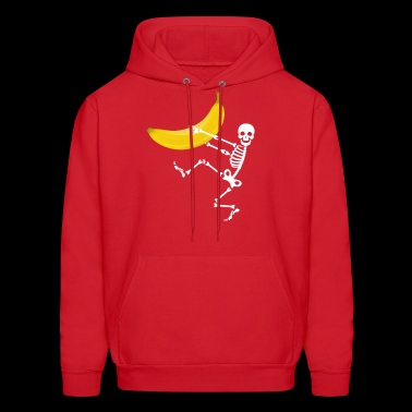 skeleton banana - Men's Hoodie