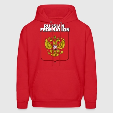 Russia National Crest Russian Expat Pride - Men's Hoodie