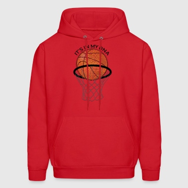 Basketball Its in my DNA Gift - Men's Hoodie