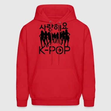 sarang haeyo KPOP girl group - Men's Hoodie