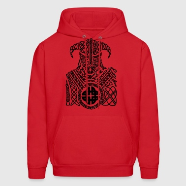 vikings wickinger warrior vikingboat boot37 - Men's Hoodie