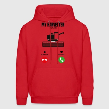 My harvester is calling! farmer gift - Men's Hoodie
