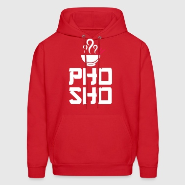 Pho Sho Foodie Asian Food Humor Chopsticks Funny - Men's Hoodie