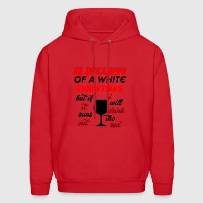 i will drink the red - Men's Hoodie