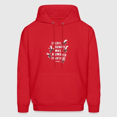 EVERY BUNNY WAS KUNG FU FIGHTING - Men's Hoodie