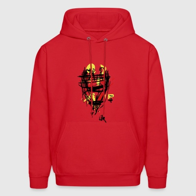 guards on the watchtower - Men's Hoodie