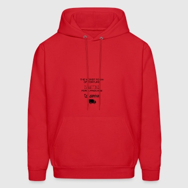 Waiting for a package - Men's Hoodie