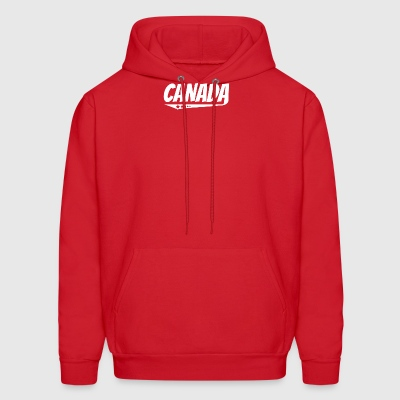 Canada Retro Comic Book Style Logo Canadian - Men's Hoodie
