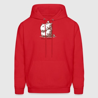 The Piggy Back - Men's Hoodie