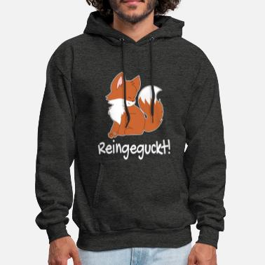 Funny Quotes Fox Funny german quote - Men's Hoodie
