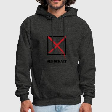 DEMOCRACY - Men's Hoodie