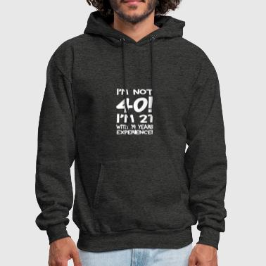 40th-birthday 40th birthday - Men's Hoodie