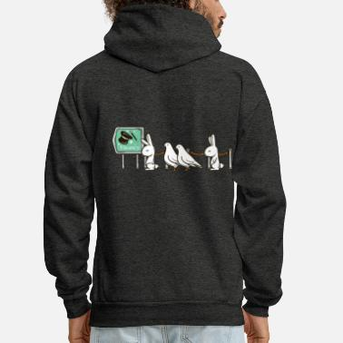 Funny Collection No Magic Today - Men's Hoodie