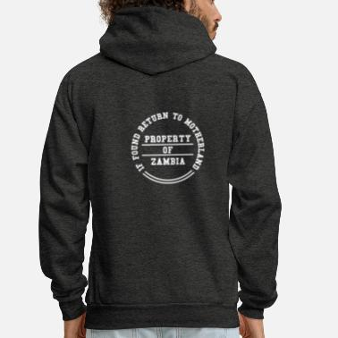 Zambia PROPERTY OF ZAMBIA (LOST BUT FOUND) - Men's Hoodie