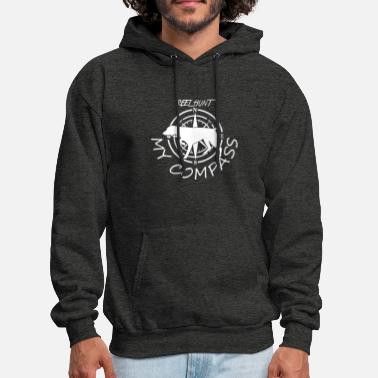 Hunting Dog Reel Hunt My Compass Hunting Dog - Men's Hoodie
