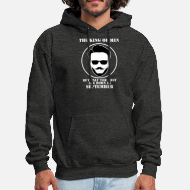 King Of Men Born In September - Men's Hoodie