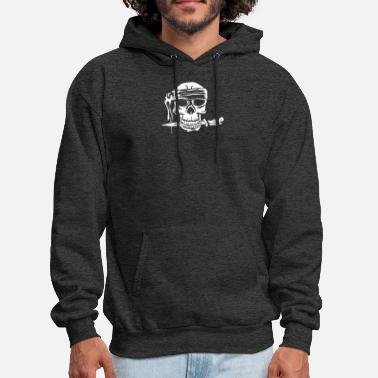 Skull And Bones Skull And Dagger - Men's Hoodie