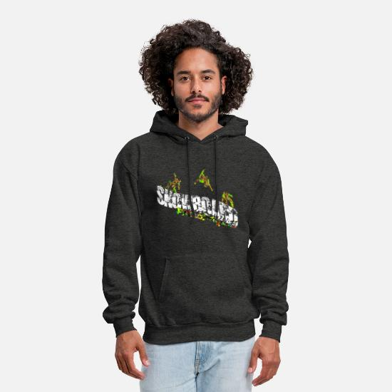 Snowboard Hoodies & Sweatshirts - Snowboard Freestyle Men Women Kids - Men's Hoodie charcoal gray