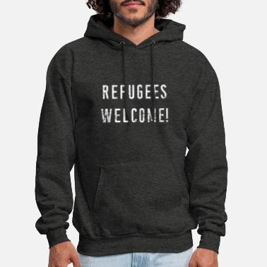 Refugees Welcome Refugees welcome! - Men's Hoodie