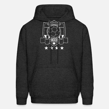 Fussball Wappen 4 Sterne Soccer Bundesliga Wm Em Men S Premium T Shirt Charcoal Gray