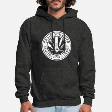 Craig Schaffer Illustration & Design White - Men's Hoodie