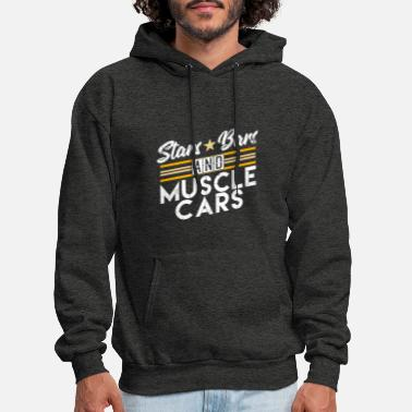 Muscle Car Stars Bars And Muscle Cars Enthusiast Muscle Car - Men's Hoodie
