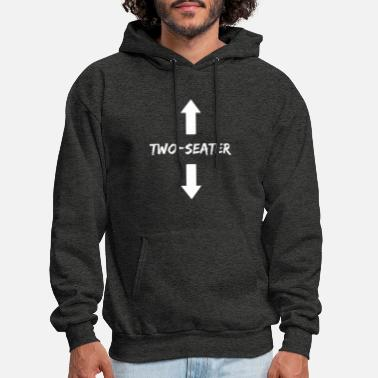 Two Two Seater 2 Seater Dad Funny Gift - Men's Hoodie