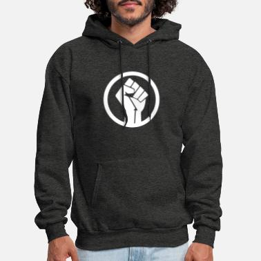 Raised Fist Raised Fist - Men's Hoodie