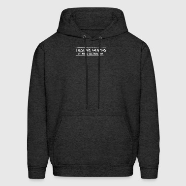 These are weapons of mass destruction - Men's Hoodie