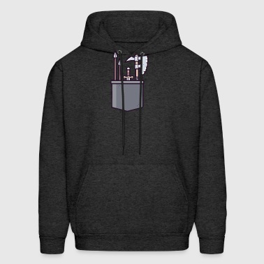 Weapon chest - Men's Hoodie