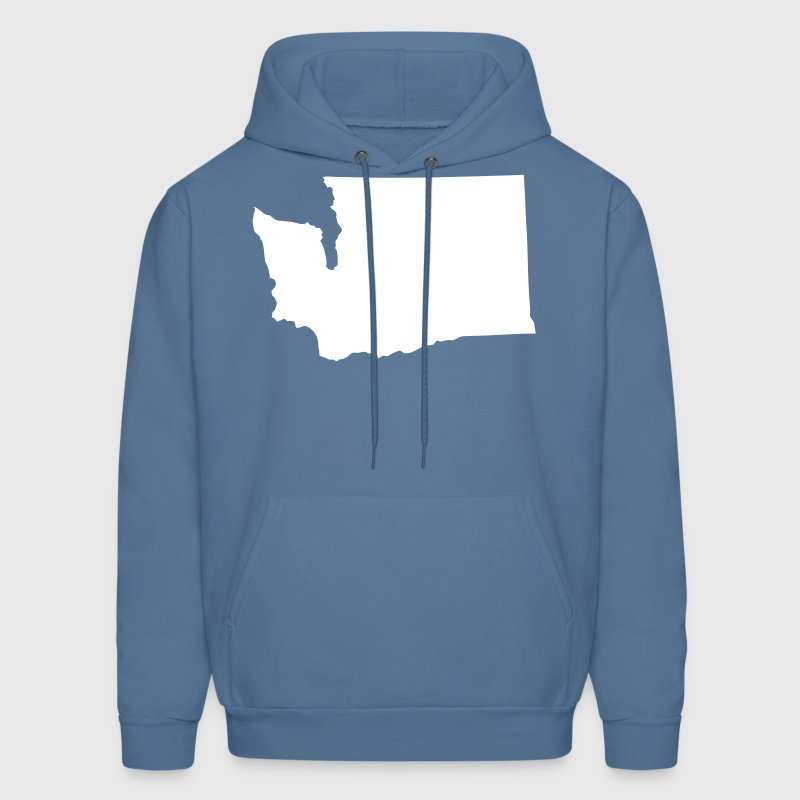 State of Washington solid - Men's Hoodie