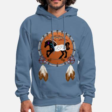 Appaloosa Horse n Arrows - Men's Hoodie
