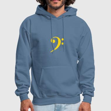Bass Clef Bass Clef - Men's Hoodie