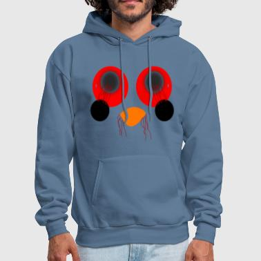 Creepy Loose eyes creepy - Men's Hoodie