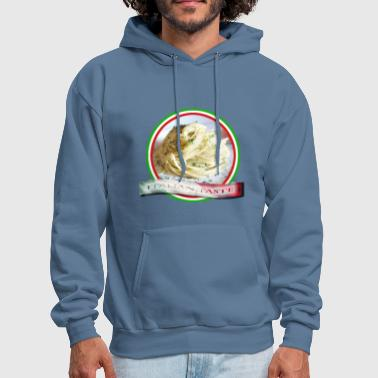 Food. Rolled spaghetti. Italian taste. - Men's Hoodie
