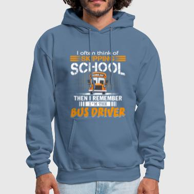 I'm The Bus Driver T Shirt - Men's Hoodie