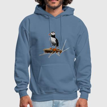 Blunt Puffin On A Roach - Men's Hoodie
