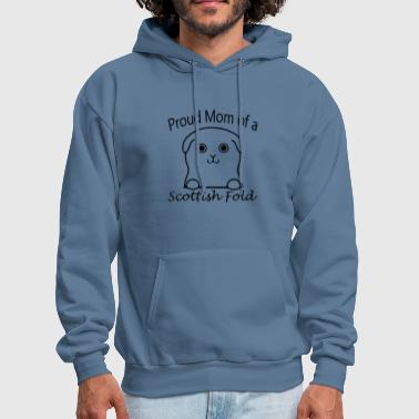 Proud Mom of a Scottish Fold - Men's Hoodie