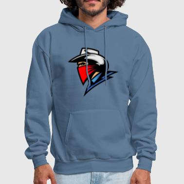 cowboy_with_blue_shirt - Men's Hoodie