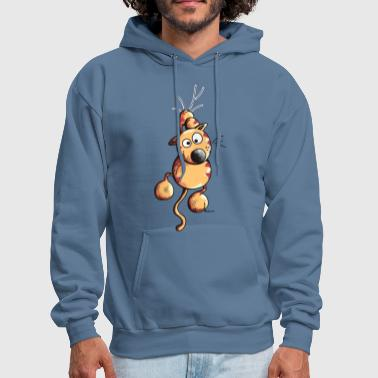 Sporty Cat - Men's Hoodie