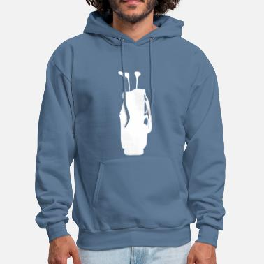 Golf Course golf bag - Men's Hoodie