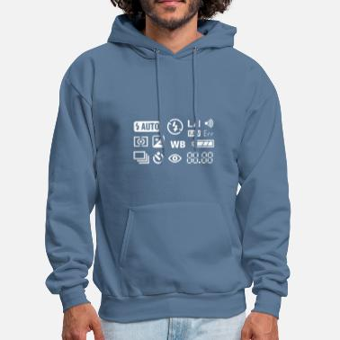Photography Photography Symbols - Men's Hoodie