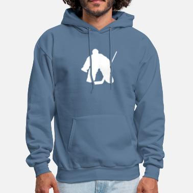 Hockey-goalie hockey goalie - Men's Hoodie