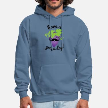 Grape Have a Grape Day! - Men's Hoodie