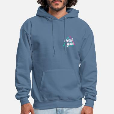 Small 80s Retro Small Design - Men's Hoodie