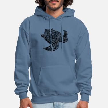 Sea Sea Turtle - Men's Hoodie